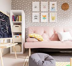 100 Contemporary Home Ideas Decorating Girl Room Accent Wall Child Decorations