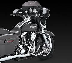 Vance And Hines Dresser Duals 16799 by Vance U0026 Hines Chrome True Dresser Duals Header Exhaust Pipe 95 08