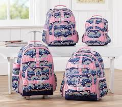 Mackenzie Navy Rainbow Backpacks