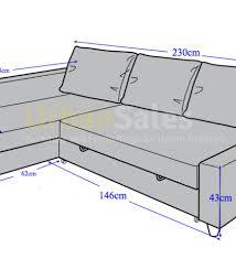 Friheten Corner Sofa Bed by Night And Day Aurora Futon Sofa Bed Cherry Dark Chocolate Sofa