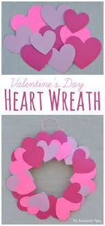 Kids Can Help Decorate For Valentines Day With This Paper Plate Heart Wreath Craft