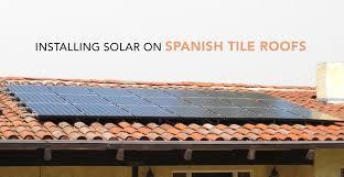 installing solar on tile roofs