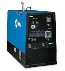 100 Big Blue Trucking Miller Electric 600 Pro WelderGenerator Goes Tier