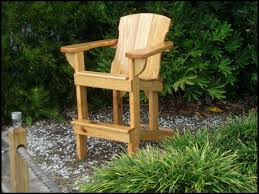 adirondack balcony pub table tall deck chairs with arms chair