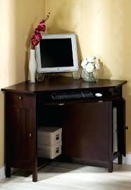 Small White Corner Computer Desk Uk by Small Corner Desk Office Depot Wood Corner Computer Desk That Is