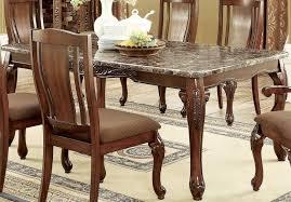 Furniture Of America Johannesburg I Brown Cherry Rectangular Leg