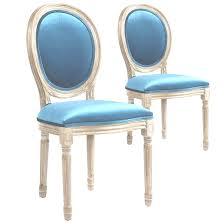 chaises m daillon pas cher louis xvi pas cher 13 avec lot de 2 chaises m daillon cosy tissu
