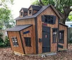 Wood Sheds Ocala Fl by Childrens Custom Playhouses Diy Playhouse Plans Lilliput