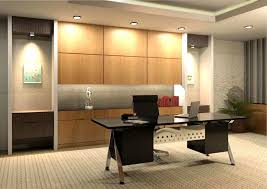 Modern Office Decorating Ideas Lighting Rugged Brick Wall And All White