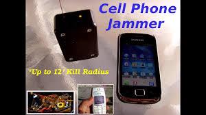 UHF Transmitter or Cellular Phone Jammer 12 range up to 2GHZ