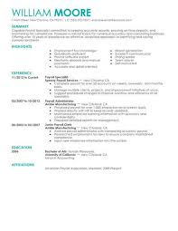 Best Payroll Specialist Resume Example