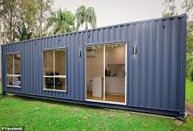 104 40 Foot Containers For Sale Inside A Family S Luxury Looking Shipping Container Daily Mail Online