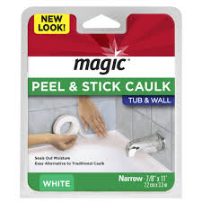 Bathtub Splash Guards Home Depot by Magic 7 8 In X 11 Ft Tub And Wall Peel And Stick Caulk Strip In
