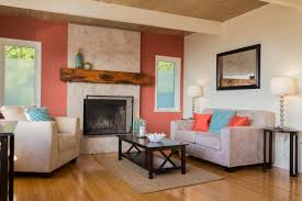 Coral Color Interior Design by 10 Ways To Boldly Use Color In Your Living Room Pro Com Blog