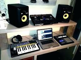 Home Recording Studio Setup Ideas Bedroom Music Small Designs