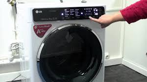 lave linge lg 8kg direct drive les numériques lave linge lg f14952whs avec connectivité nfc