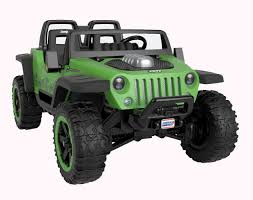 Power Wheels Jeep Hurricane Extreme 12 Volt Ride On - Toys