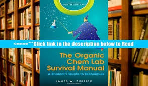 Download The Organic Chem Lab Survival Manual A Student S Guide To Techniques PDF Popular