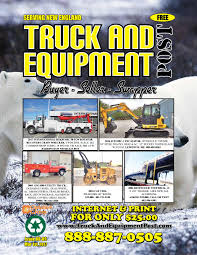 100 Bangor Truck Equipment Equipment Post 08 09 2017 By 1ClickAway Issuu