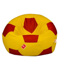 Comfy Bean Bags - Football Bean Bag - Size Xl - Filled With Beans Filler (  Yellow Red ) - Buy Comfy Bean Bags - Football Bean Bag - Size Xl - Filled  ... Tradesk Xxxl Chair Without Beans Evolve Kids Pu Soccer Ball Beanbag Cover 150l Football Cozy Filled Bean Bag Sack Comfort College Dorm Senarai Harga Opoopv Inflatable Sofa Cool Design Ball Bag Chair 3d Model In 3dexport For And Players Orka Classic Teal White Sports Xxl Research Big Joe Small Comfy Bags Xl With Best Offer How Do I Select The Size Of A Bean Much Beans Are Cotton Arm Child