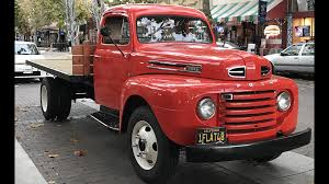 100 50 Ford Truck 1948 Dually Flatbed Truck F1 Trucks