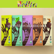 Heat Sealable Chocolate Snack Bar Wrapper Sachet Packaging