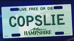 New rules put NH vanity plates on hold
