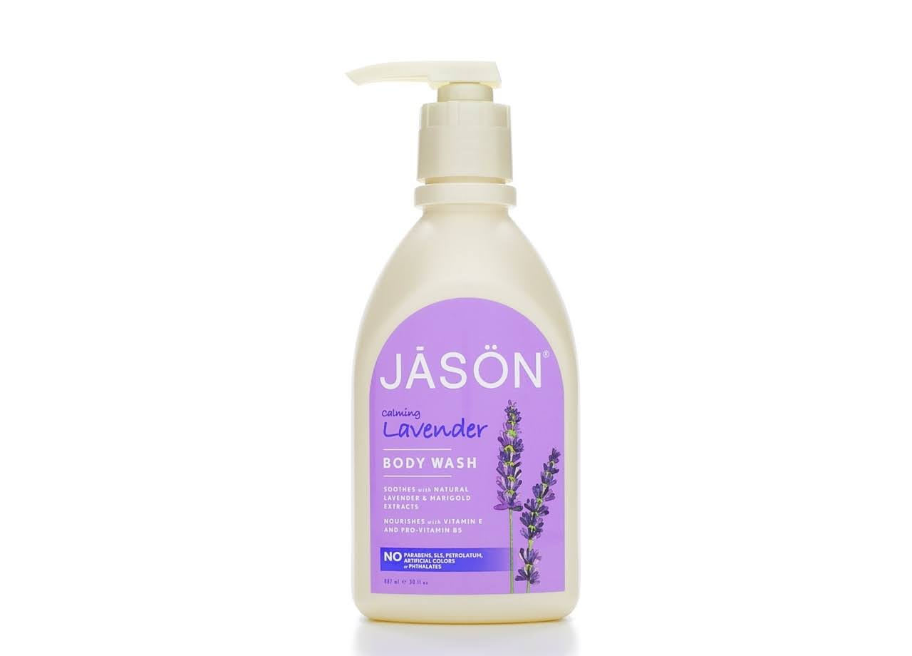 Jason Satin Shower Body Wash - Lavender, 30oz