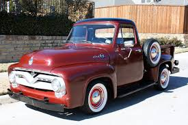 100 55 Ford Truck For Sale 19 F100 With A 239 YBlock And 3Speed Column Shift