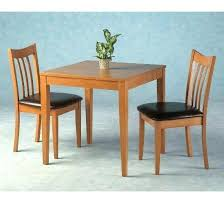 Two Seat Kitchen Table Wonderful Modern 2 Chair Dining Design Chic Ideas Of Home For Ordinary Bench With Back