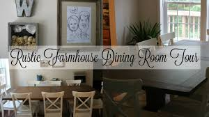 Rustic Farmhouse Dining Room Tour