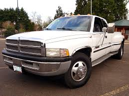 Used 1999 Dodge Ram 3500 Dually SLT For Sale In Eugene, Oregon By ...