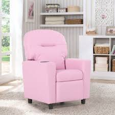 costway sofa recliner armrest children living room