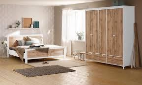 home affaire schlafzimmer set kjell set 4 tlg bestehend aus einem bett zwei nachttischen und einem kleiderschrank kaufen otto