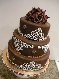 chocolate birthday cakes decoration in unusual styles trendy