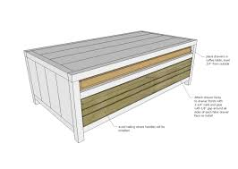 Diy Sewing Cabinet Plans by Ana White Reclaimed Wood Coffee Table With Printmaker Style