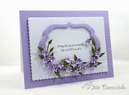 Making A Tiny Handmade Paper Flowers And Frame Card Is So Fun Easy