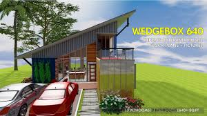 100 Shipping Container Homes Floor Plans HOMES PLANS And MODULAR PREFAB Design Ideas WEDGEBOX 640