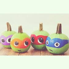 Tmnt Pumpkin Pattern Free by Clever No Carve Painted Pumpkin Ideas For Kids Crafty Morning