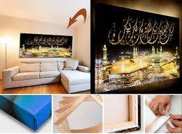 islamische leinwandbilder günstig kaufen halal wear