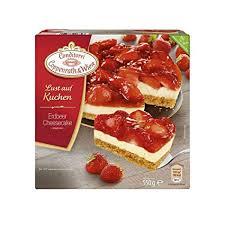 erdbeer cheesecake lust auf kuchen conditorei coppenrath wiese 550 gramm tiefgefroren