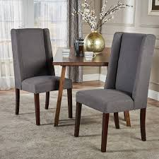 Christopher Knight Home 300212 Rory Fabric Dining Chair (Set Of 2), Dark  Grey French Highback Ding Chairs Beautifully Designed Louis Xv High Back Ding Chairs Beech Wood Late 19th Century Sku 9622 Whtear Reproduction Fniture Arden Chair Skyline John Lewis Partners Tropez Set Of Six Mid Modern Walnut Dramatic 5 Kamron Tufted Upholstered Faye Grey Faux Leather Pair With Chrome Legs Lssbought Fabric 2 Gray