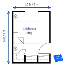 Small Bedroom Design California King 10 X 14ft