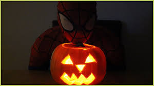 Superhero Pumpkin Carving Kit by Amazing Spiderman Pumpkin Spiderman Superhero Youtube