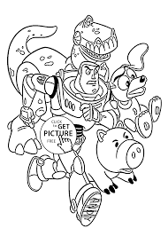 Download Coloring Pages Toy Story Rescue From For Kids