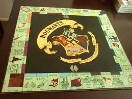 Harry Potter Diy Harrypotteropoly 930x697 14 Awesome Homemade Board Games
