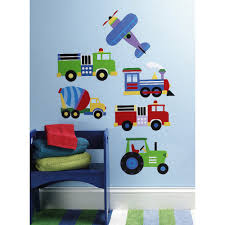 100 Stuber Trucks Wallies Peel And Stick Wall Decal OK Trains Planes