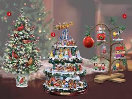 Thomas Kinkade Christmas Tree by Christmas Trees Which Size Is Right For You Bradford Exchange Blog