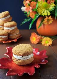 Pumpkin Whoopie Pies With Maple Spice Filling by October 2011 Dulce Dough Recipes
