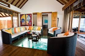 Glass Floors Living Room Floor